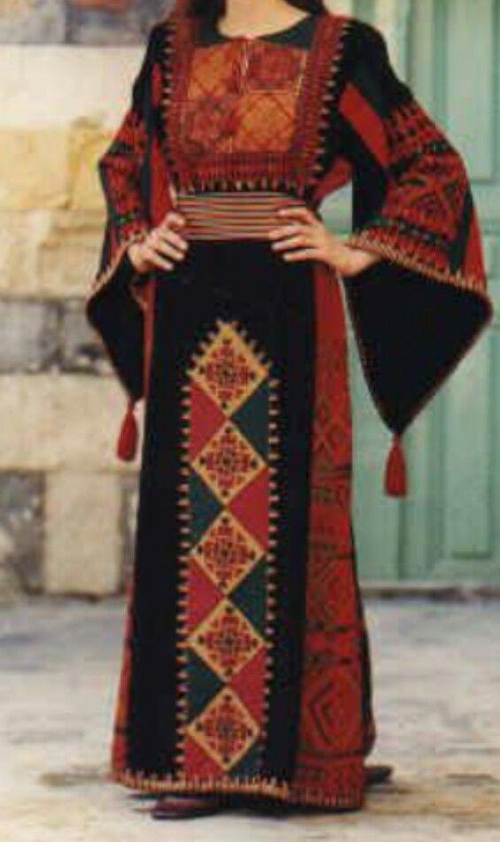 Traditional jordanian dress