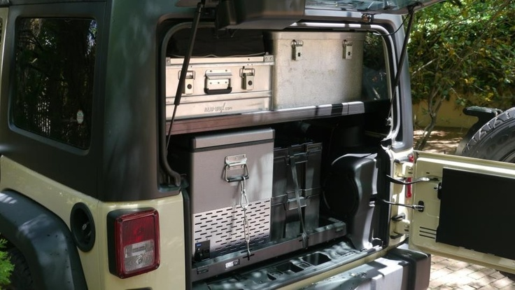 Front Runner Vehicle Outfitters Front Runner Jeep Jk Cargo