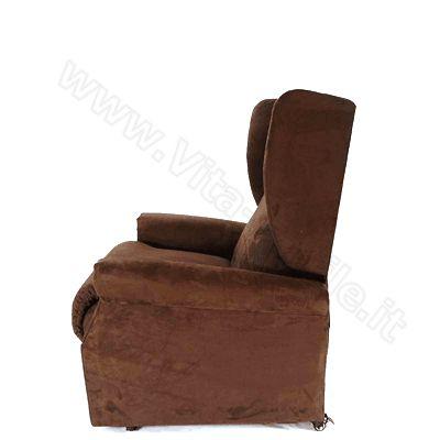 Poltrona elevabile, reclinabile, ortopedica per anziani