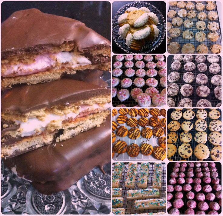 More Biscuits! From left to right: 1.Wagon Wheel Biscuits, 2. White Chocolate and 3. Coconut Dipped Biscuits,  4. Rustic Gluten Free Sultana Biscuits, 5. Biscuits Dipped in White Chocolate Topped With Peppermint Candy, 6. Drizzled with Chocolate, 7. Sultana and Cranberry Biscuits, 8.Vanilla Wafers Topped With White Chocolate and Sprinkled and 9.Pink Butter Biscuits. Now coffee or tea?