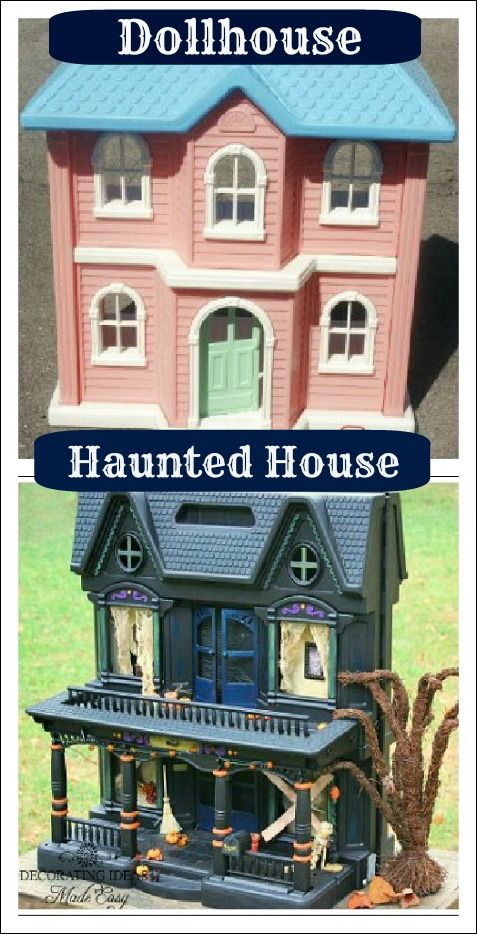 What are some tips for making a scary haunted house?