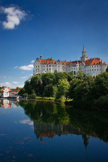Schön bei jedem Wetter: Schloss #Sigmaringen in Deutschland