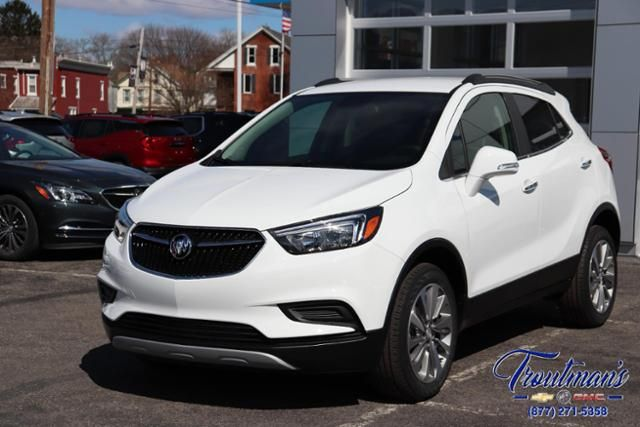 Summit White 2019 Buick Encore Preferred Awd Buick Encore
