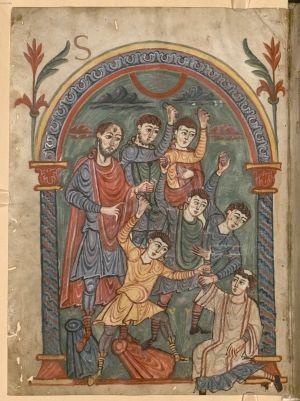 Munich Bayerische Staatsbibliothek Clm 14345, mid 9th