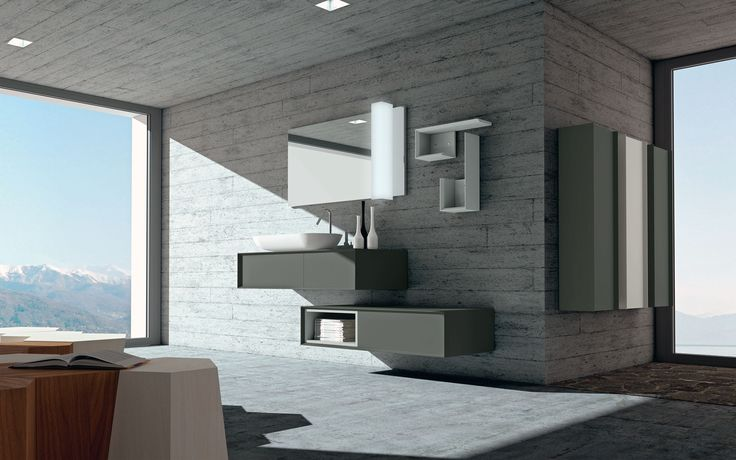 #moduladue #puntotre #bathroom #arredobagno #modernfurnish #design