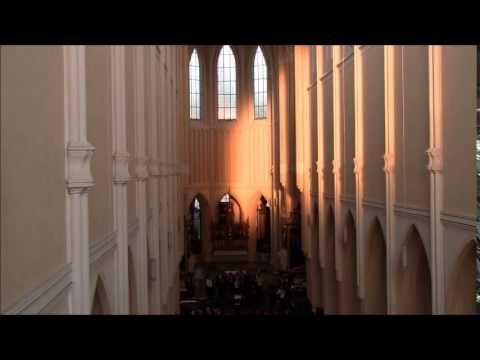Rovnodennost v sedlecké katedrále - 20. března 2015 - YouTube