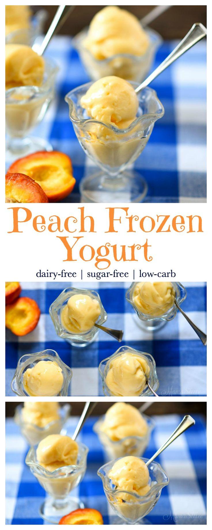 25+ bästa Peach frozen yogurt idéerna på Pinterest ...
