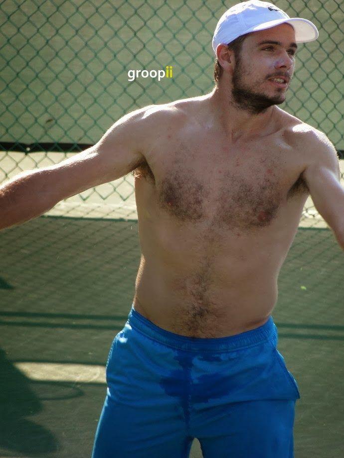 Stanislas Wawrinka, tennis hunk