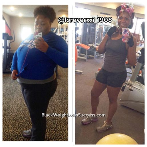 Jameelah lost 158 pounds
