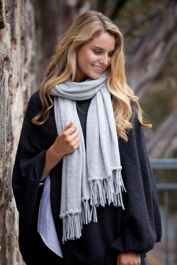 Can you fall in love with a scarf? Absolutely! This Jet Set Scarf by Everyday Cashmere is truly superb. Made with 100% luxurious cashmere, this amazing lightweight scarf is the perfect length so that you can wear it as a scarf, a wrap or a shawl. It is so versatile you can wear it loose over your shoulders with a gorgeous dress or use it as blanket as you jet off on a flight to Rome. Bring some much needed luxury into your life, you deserve it.