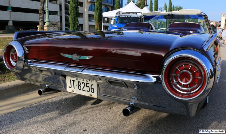 1961 Ford Thunderbird. As shown at the November 2016 Cars and Coffee event in Austin TX USA.