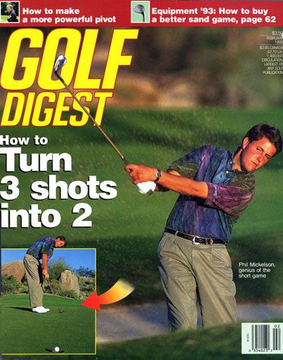 Golf Digest Cover: Phil Mickelson