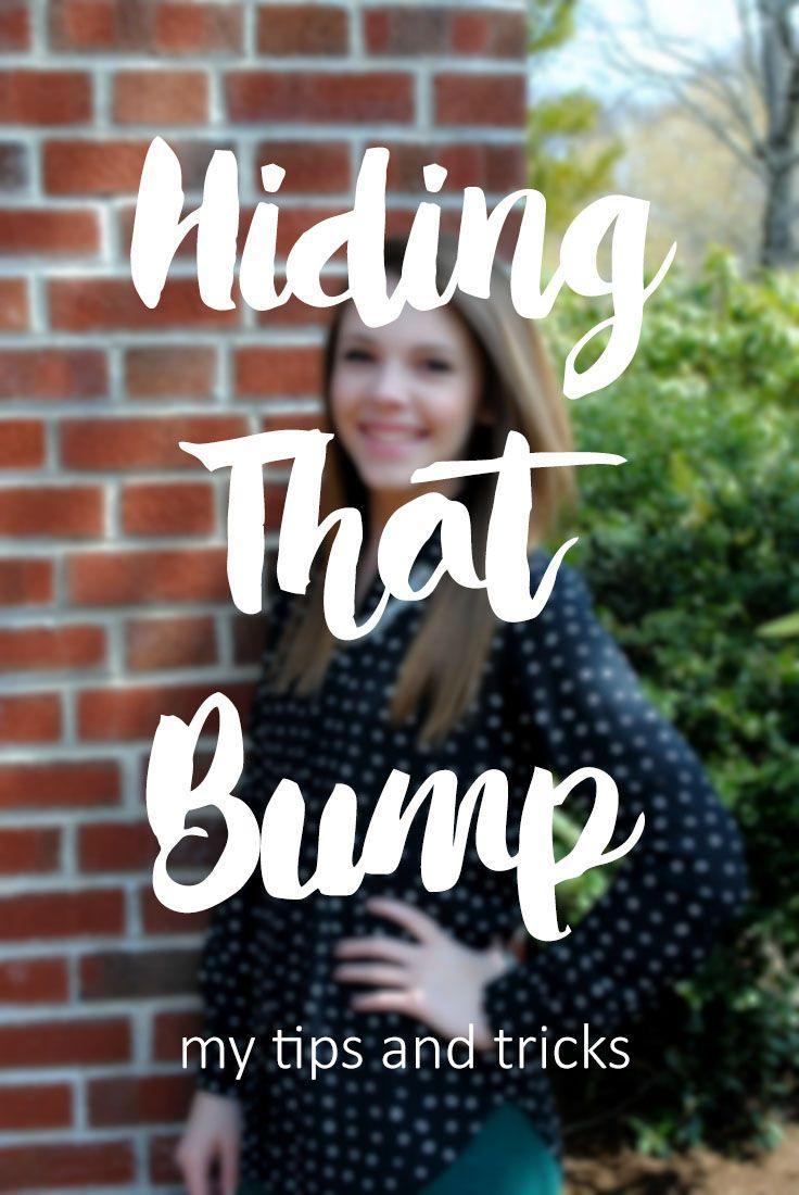 Hiding That Bump – Living Like Kaitlin