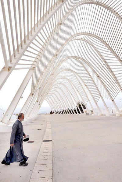 Obra de Santiago Calatrava en Grecia.: Building, Arqui