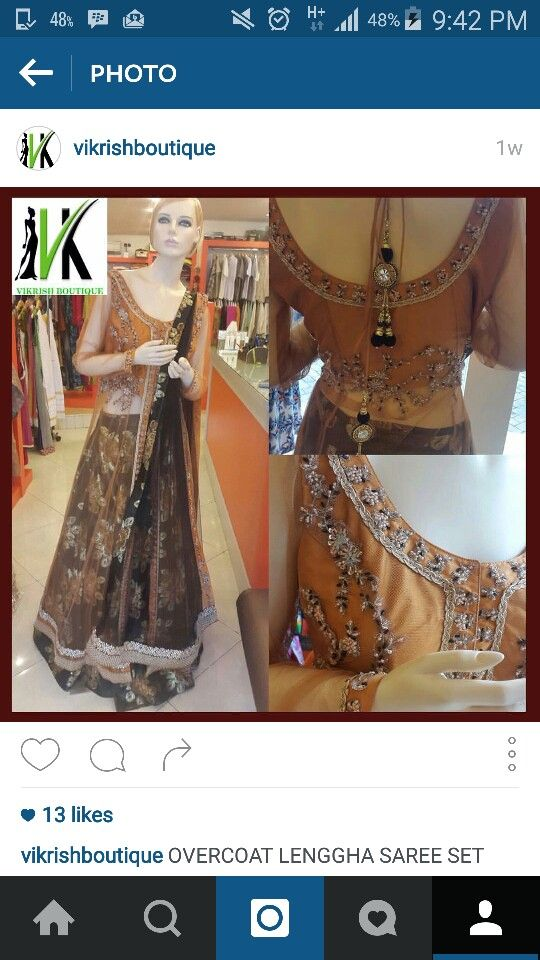 #copper#flower#rose#lehenga#desistyle#bollywood#coatstyle#
