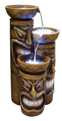 Tiki Fountain-need for the back deck poolside!