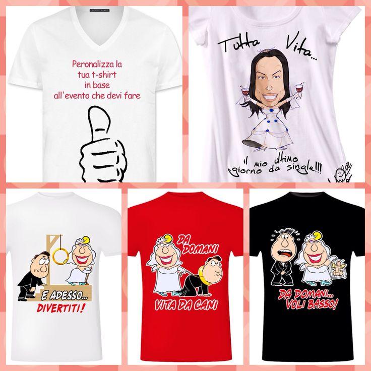La tua t shirt personalizzata... Idea divertente per addio nubilato/celibato  Visita il nostro sito www.creativity-center.it Oppure www.bassanofoto.com E si fb Bassanofoto by foto Vanni