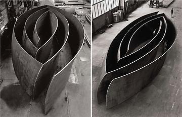 Richard Serra 'Blind Spot' / 'Open Ended'   Gagosian Gallery, 2009 http://www.gagosian.com/exhibitions/2009-10-27_richard-serra/