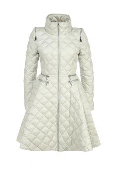 Пуховик Odri, цвет: серый. Артикул: OD001EWGJW31. Женская одежда / Верхняя одежда / Пуховики и зимние куртки