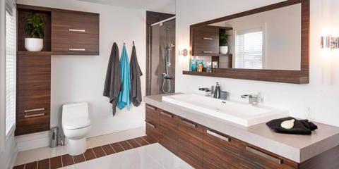 Portfolio de salles de bain | Armoires Cuisines Action