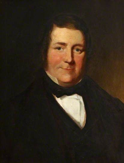 Sir Thomas Spencer Wells (1818–1897) was a pioneer in abdominal surgery. He also lectured at the Grosvenor School of Medicine (which later became the medical school of St George's Hospital). Painting by an unknown artist, Hunterian Museum.