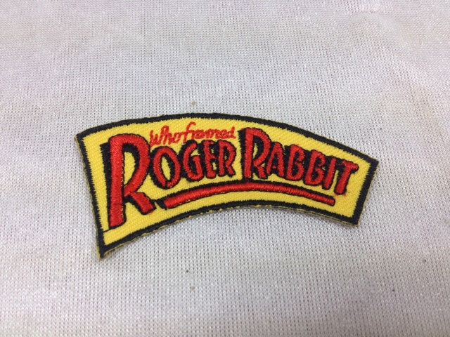 Who Framed Roger Rabbit Embroidered Patch , Vintage Disney Patch by CharlesTreasureChest on Etsy https://www.etsy.com/listing/261366250/who-framed-roger-rabbit-embroidered