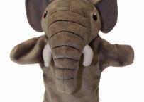 Prima mea papusa de mana Elefant | Bebeart