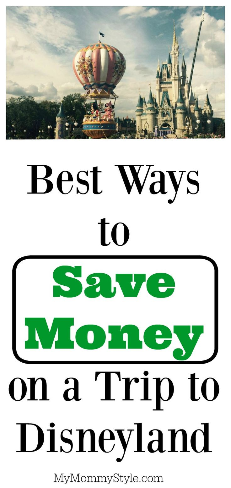 Save money on a trip to Disneyland with these awesome tips! You don't have to spend a fortune to visit the happiest place on earth.