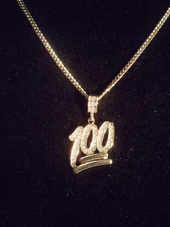 Gold Keep It 100 Chain Necklace Keep It 100 Gold Chains For Men Chains For Men Mens Chain Necklace