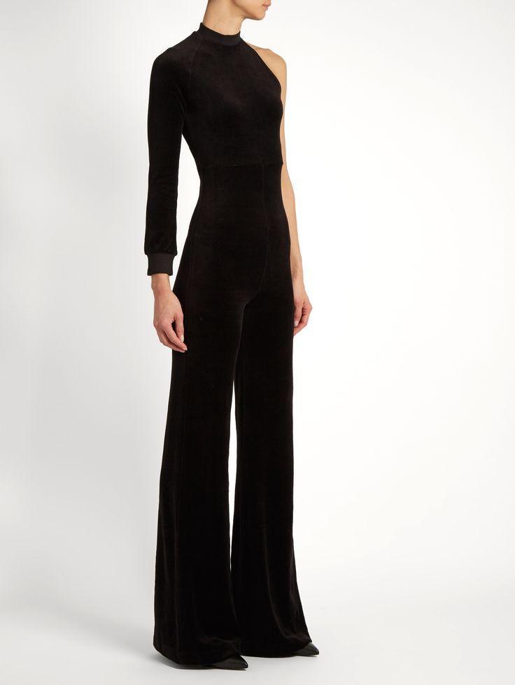 X Juicy Couture one-sleeve velour jumpsuit    Vetements   MATCHESFASHION.COM UK