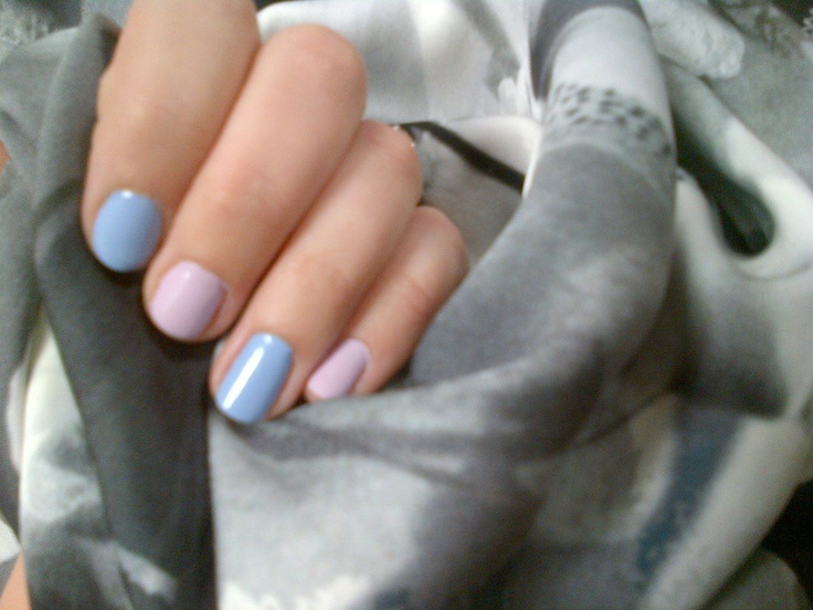 Today we are loving alternate nail colour in Spring pastels both from Nails inc, the prefect look to wear with our Collaborare collection