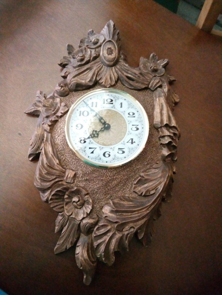 my first wall clock