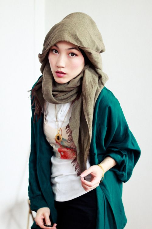 hana tajima - hijab style
