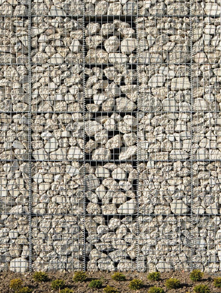 Hackney Marshes Centre - Gabion Wall