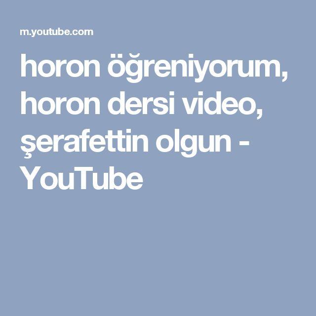 horon öğreniyorum, horon dersi video, şerafettin olgun - YouTube