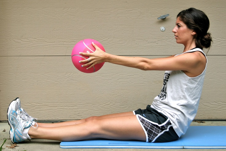 medicine ball intervalworkout