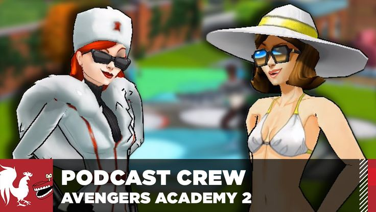 Let's Play – Marvel Avengers Academy Part 2 – The Rooster Teeth Podcast ...