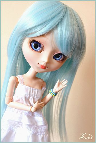 204 best images about pullip on pinterest girl dolls for Alice du jardin pullip