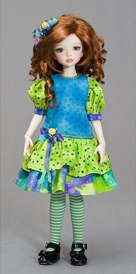 how to: doll dress (scale down)