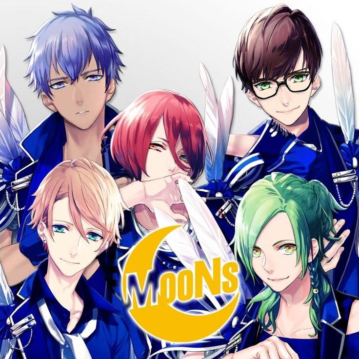 Kasuna Masunaga, Momotaru Onzai, Hikaru Osari, Tatsuhiro Nome, Mikado Sekimura - Moons - Character song - B-Project: Kodou*Ambitious (B-PROJECT MooNs 2nd ...