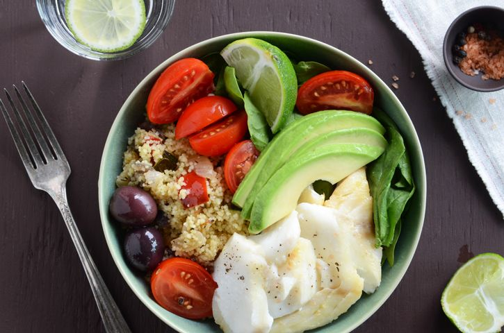Swith the couscous for quinoa, millet or any other GF grain of choice!Lunches, Healthy Salad, Fitness Tips, Avocado, Summer Salad, Quinoa, Eating Healthy, Healthy Food, Roasted Veggies