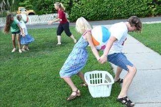 эстафеты для детей летом