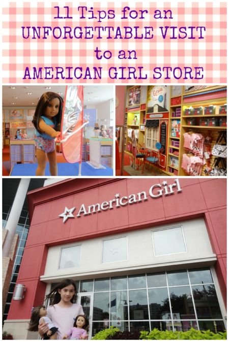 11 Tips For An Unforgettable Visit to an American Girl Store