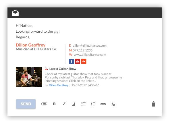 The  Best Email Signature Templates Ideas On   Email