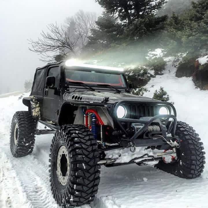 Snow Beast Jeep JK