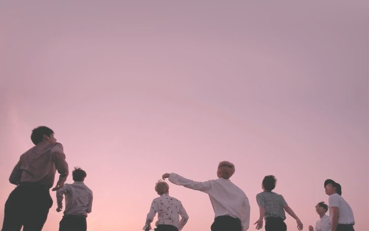 young forever (pink) desktop wallpapers Bts laptop