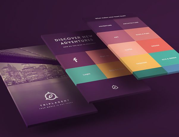 Presenting your web mockups with added 3d flair for 3d design app