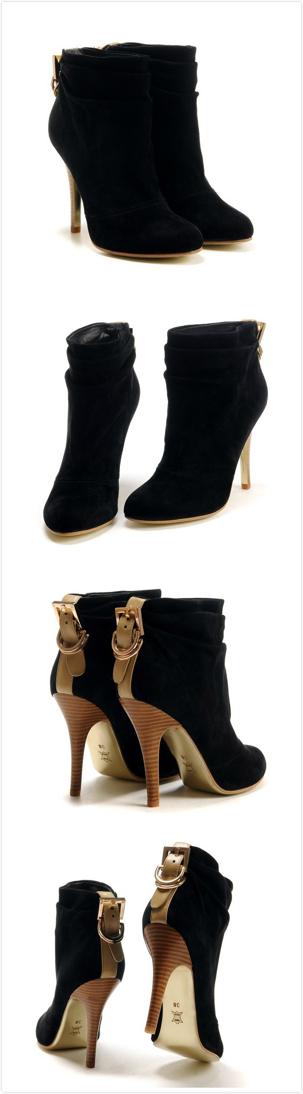 Tory Burch Boots Outlet! Tory Burch Black Slouchy Boots 6549