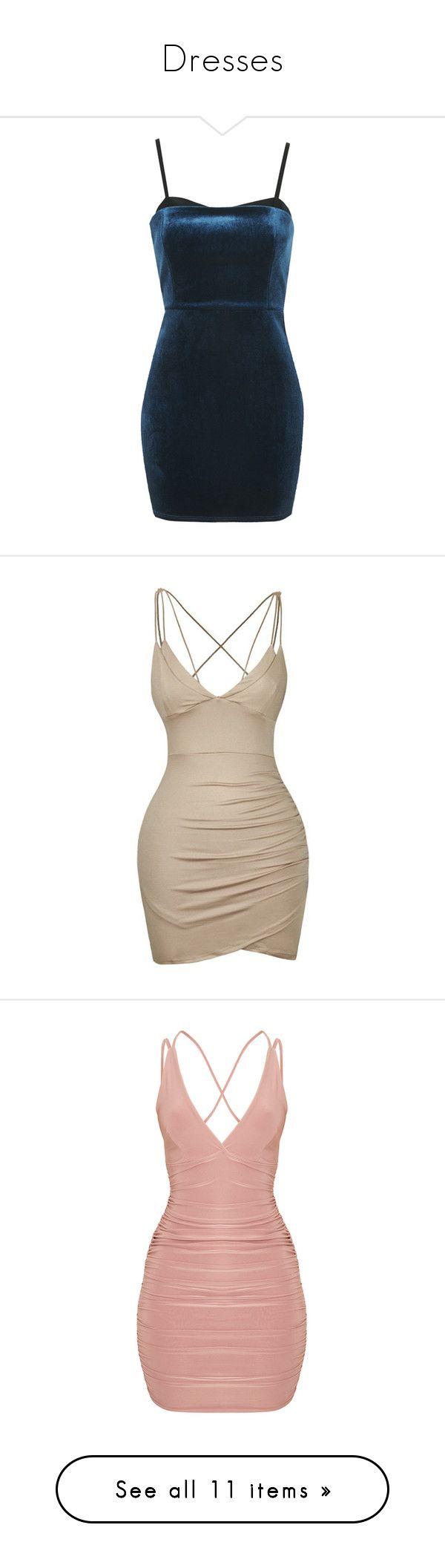 """Dresses"" by its-me-maddie ❤ liked on Polyvore featuring dresses, vestidos, short dresses, blue, jewel green, petite, blue velvet dresses, green mini dress, short blue dress and short velvet dress"