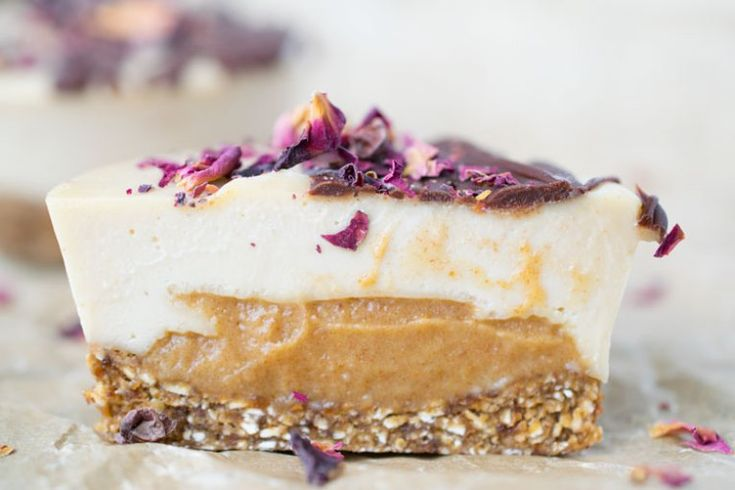 Butterscotch caramel cheesecakes - prøv ut! Glutenfrie og med kun cashewnøtter